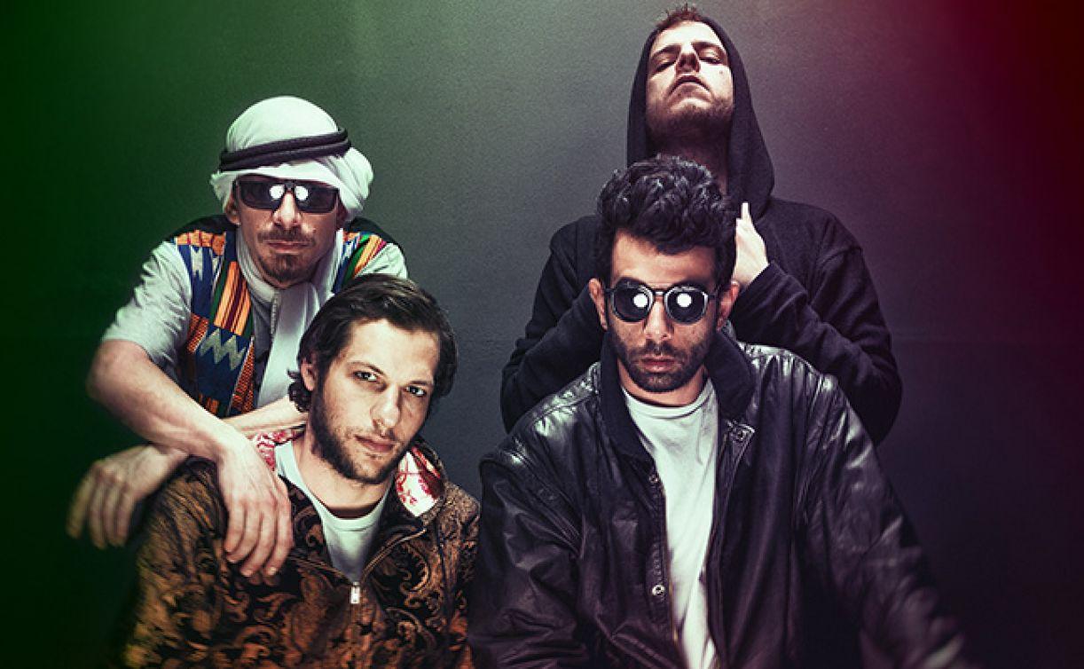 '47Soul', banda palestina de hip hop, é uma das grandes apostas desta edição