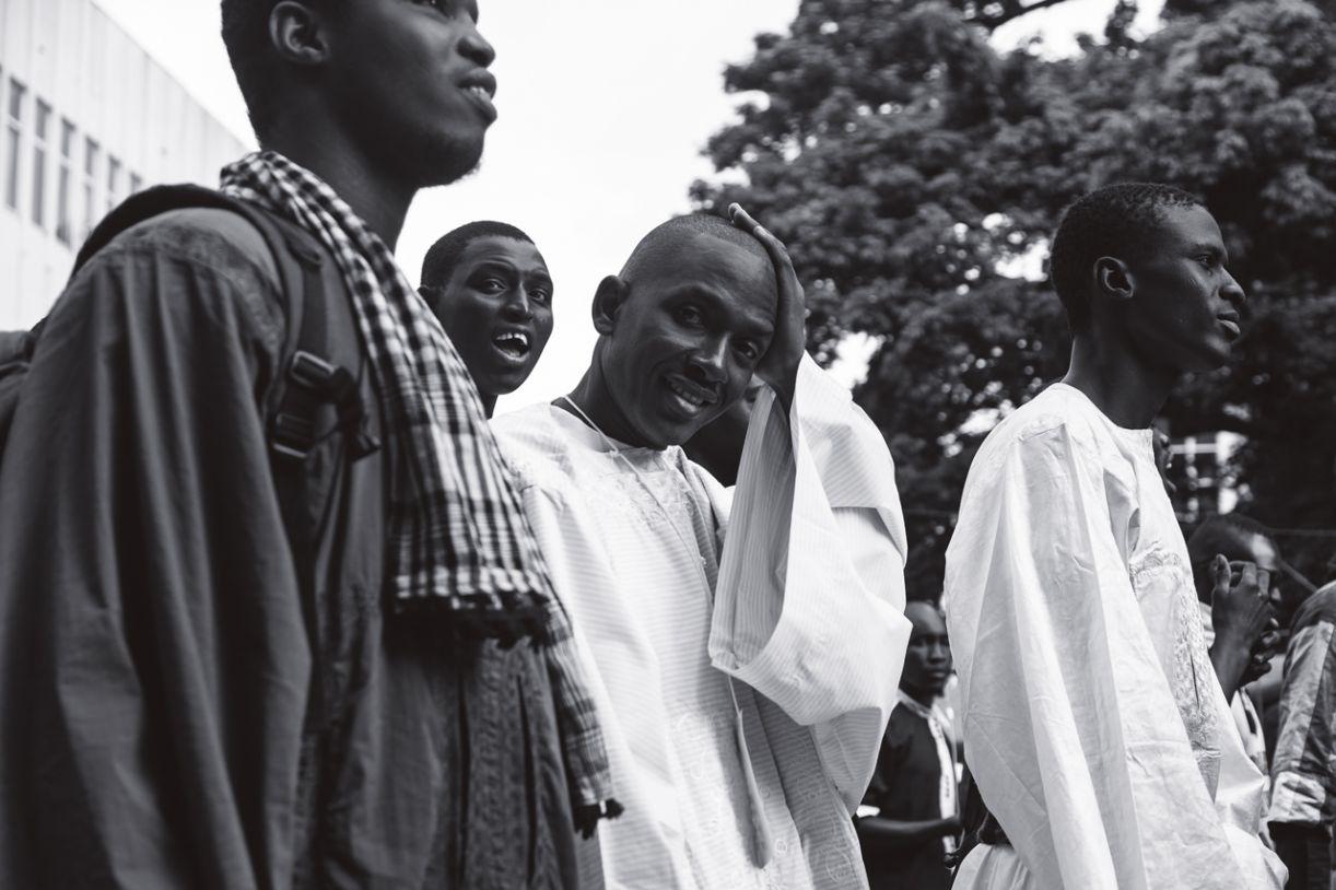 A caminhada pela paz tem por objetivo ampliar os laços entre os imigrantes do Senegal e os brasileiros