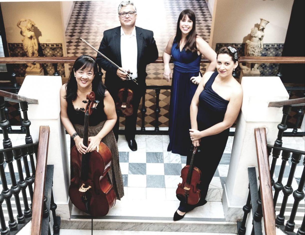 O quarteto 'Metamorfosis', da Universidade Federal da Bahia, se apresenta na quarta (5/12)