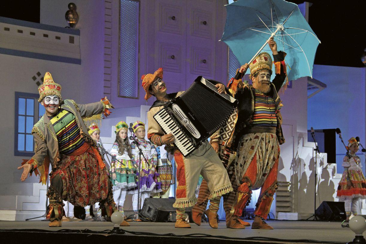 O 'Baile' comemora 35 anos de existência e 15 anos de apresentações no Marco Zero