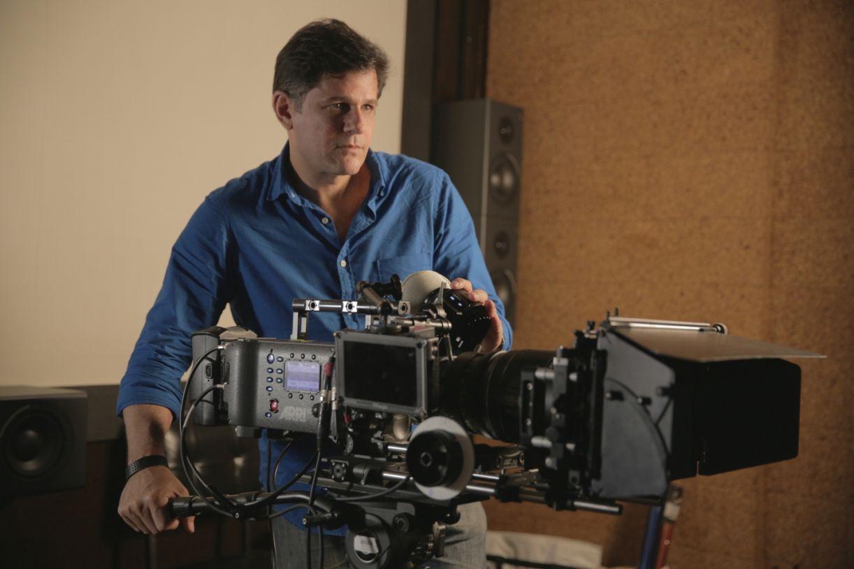 O cineasta André di Mauro