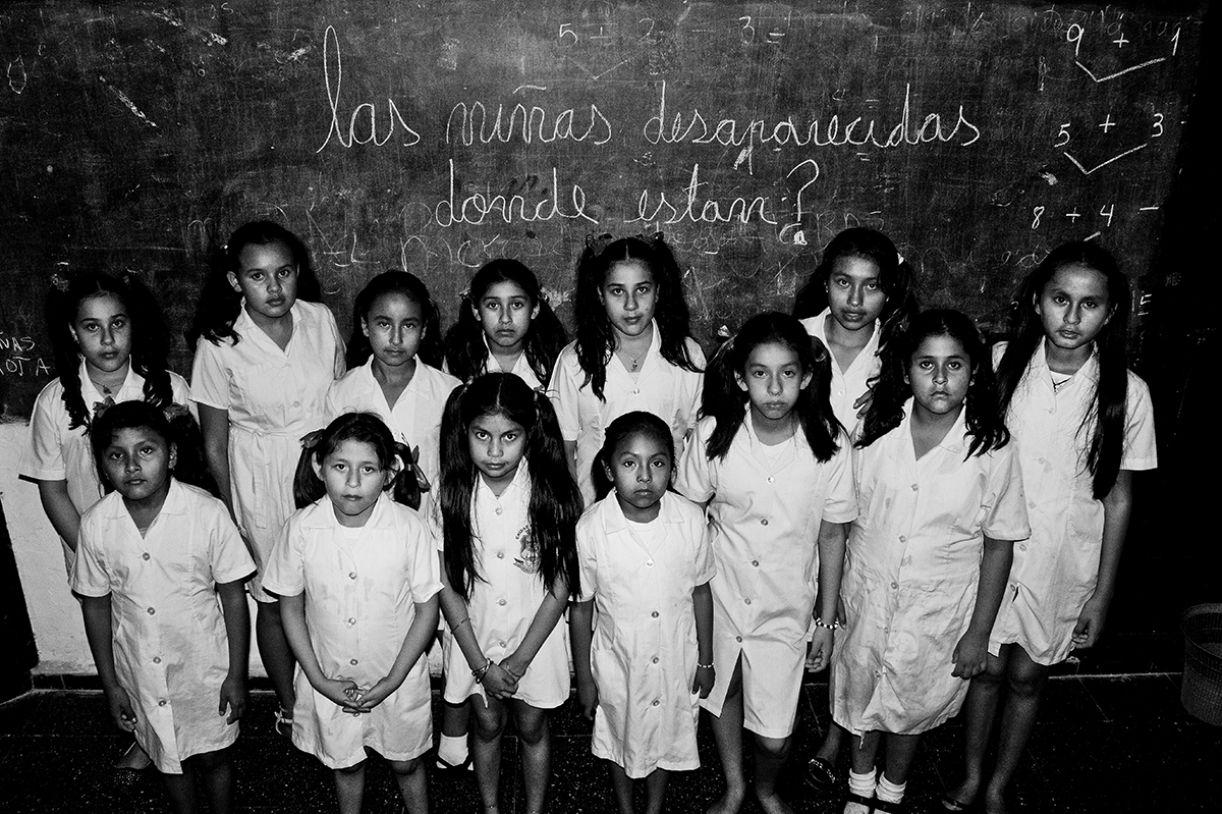 Fotografia da boliviana Carla Spinoza, uma das participantes do projeto