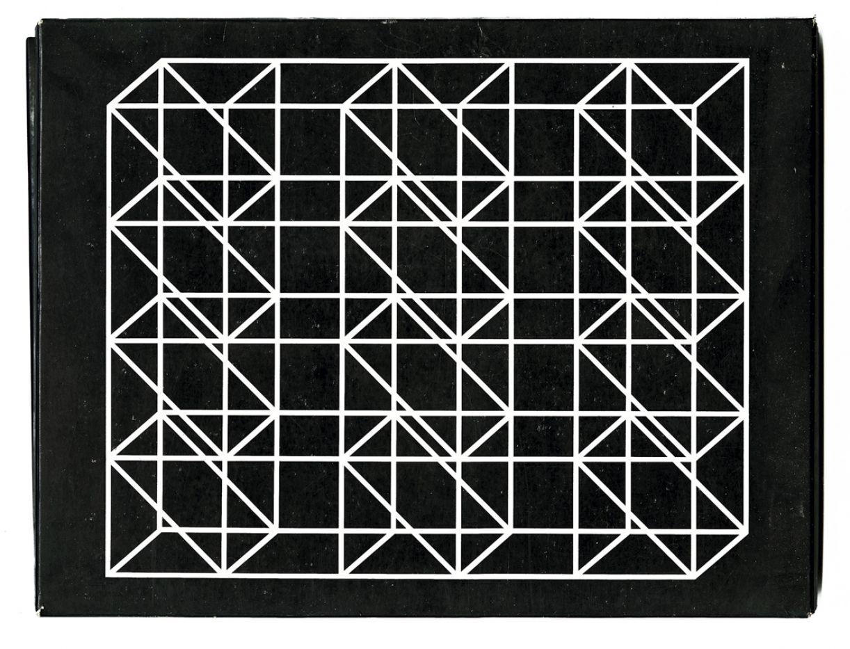 Augusto de Campos e Julio Plaza usam linhas e geometria para fazerem versos