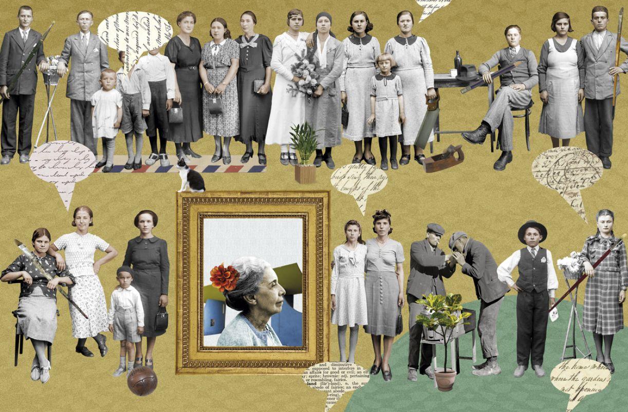Nise da Silveira (ao centro) lutou pela humanização da psiquiatria