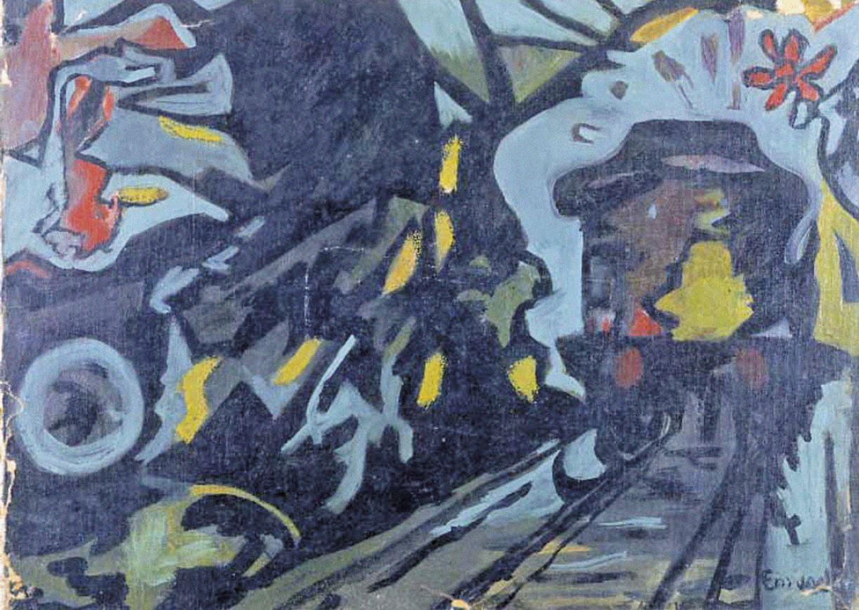 Considerada moderna pela crítica, obra do interno Emygdio de Barros foi realizada entre 1940 e 1950