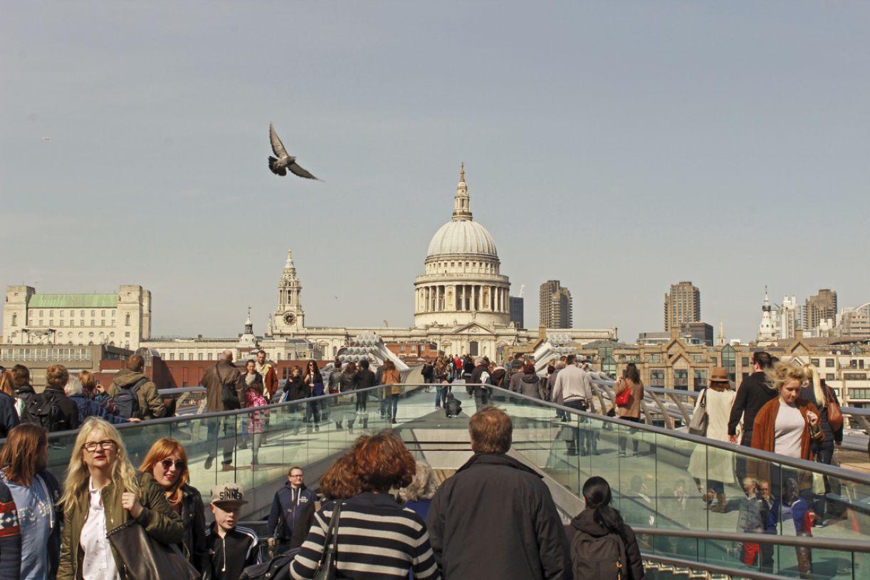 No pódio entre os destinos turísticos, Londres é a cidade mais citada nas redes sociais