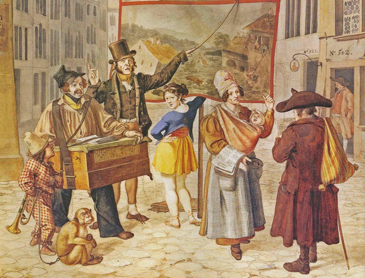 Ilustração de Baenkelsaenger mostra que criar narrativas com imagens é algo mais antigo do que supomos