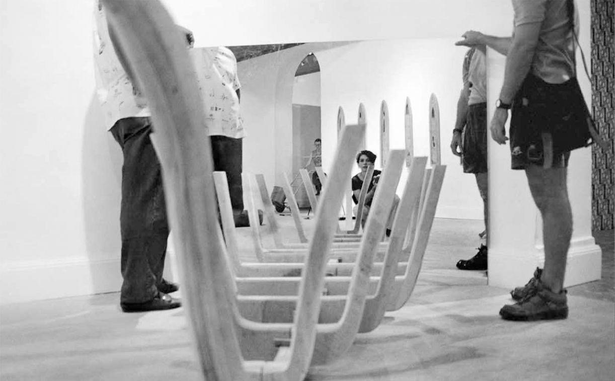 A mostra Arte Contemporânea (2000-1) Pernambuco reuniu, em 1999, muitos artistas da cena no MAMAM