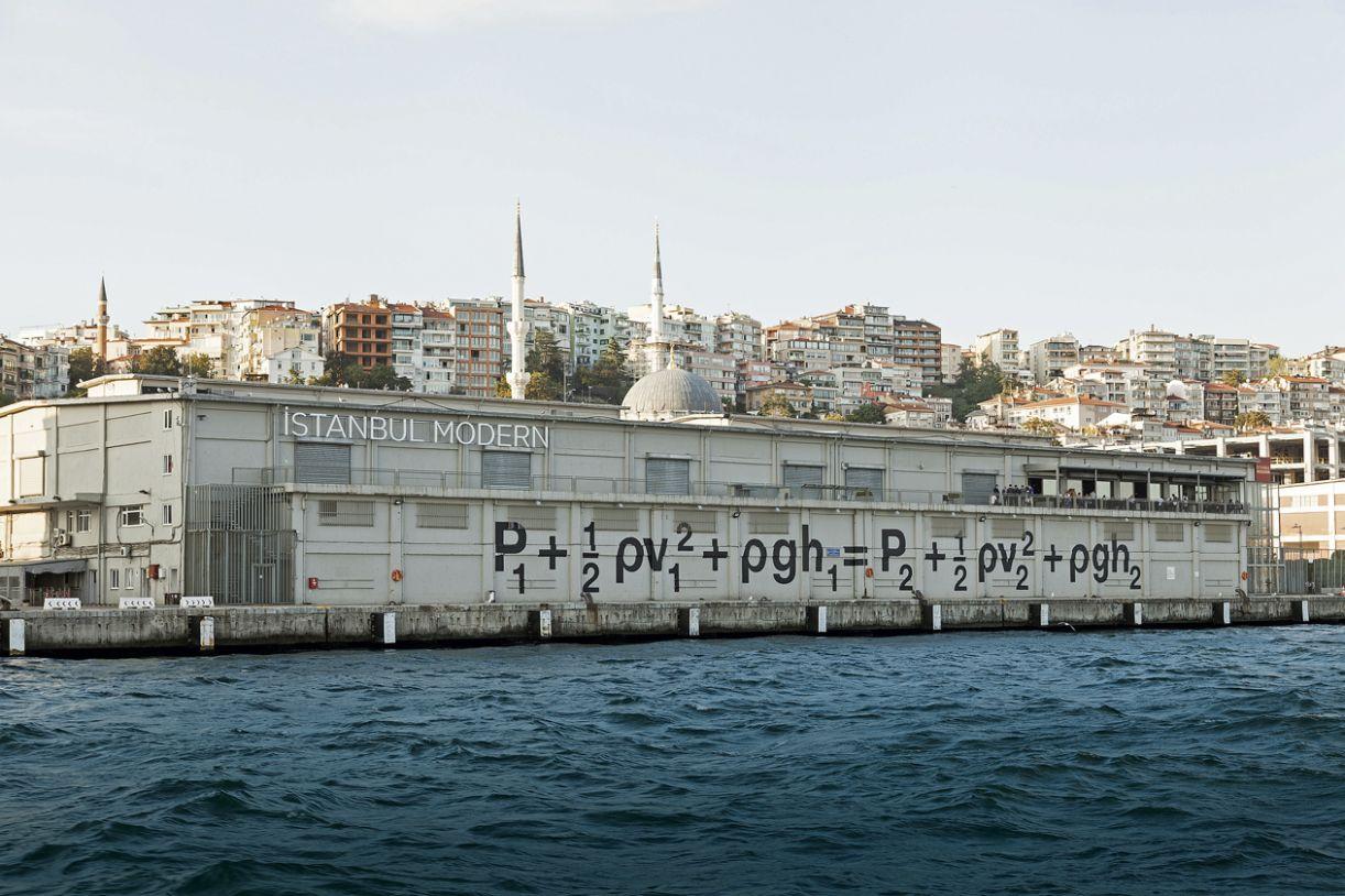 O Istanbul Modern é um dos ícones da cena de arte contemporânea da Turquia