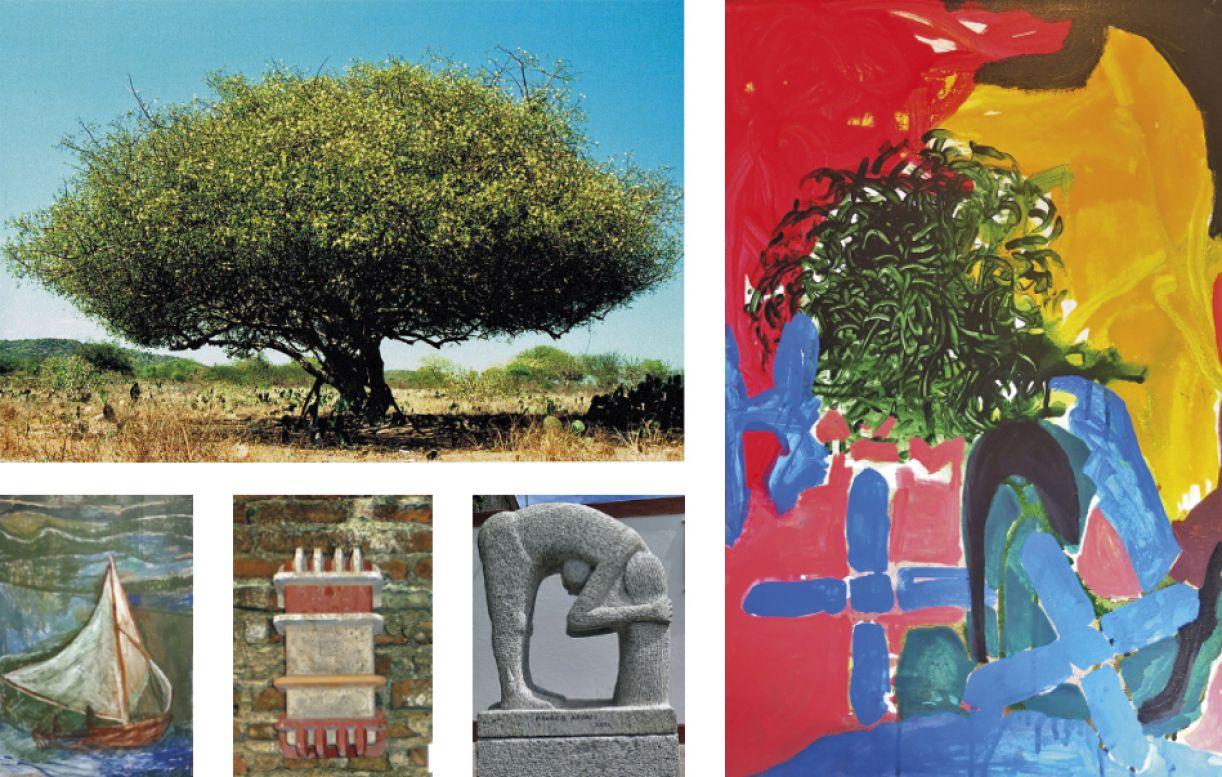 Obras de Aderbal Brandão, Eduardo Araújo, Humberto Magno, Maurício e Luciano Pinheiro