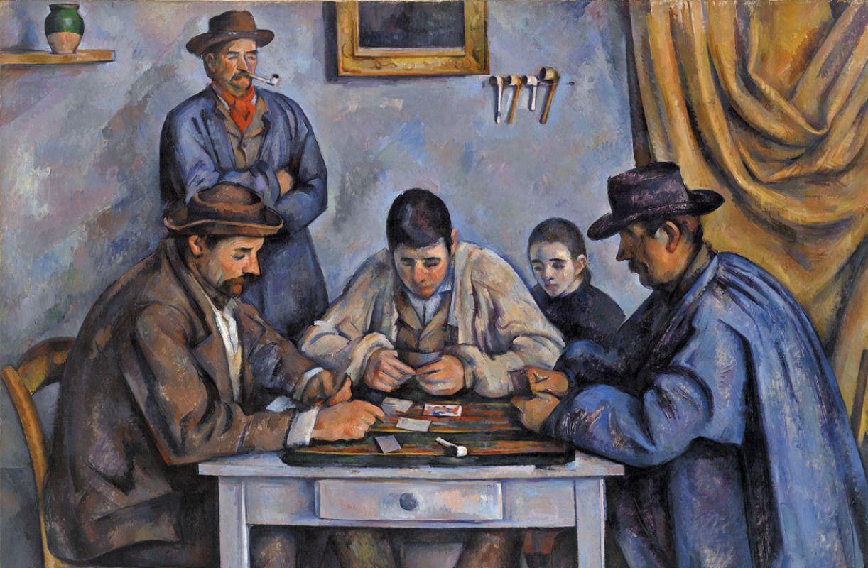 'Os jogadores de cartas' é a segunda tela mais cara do mundo