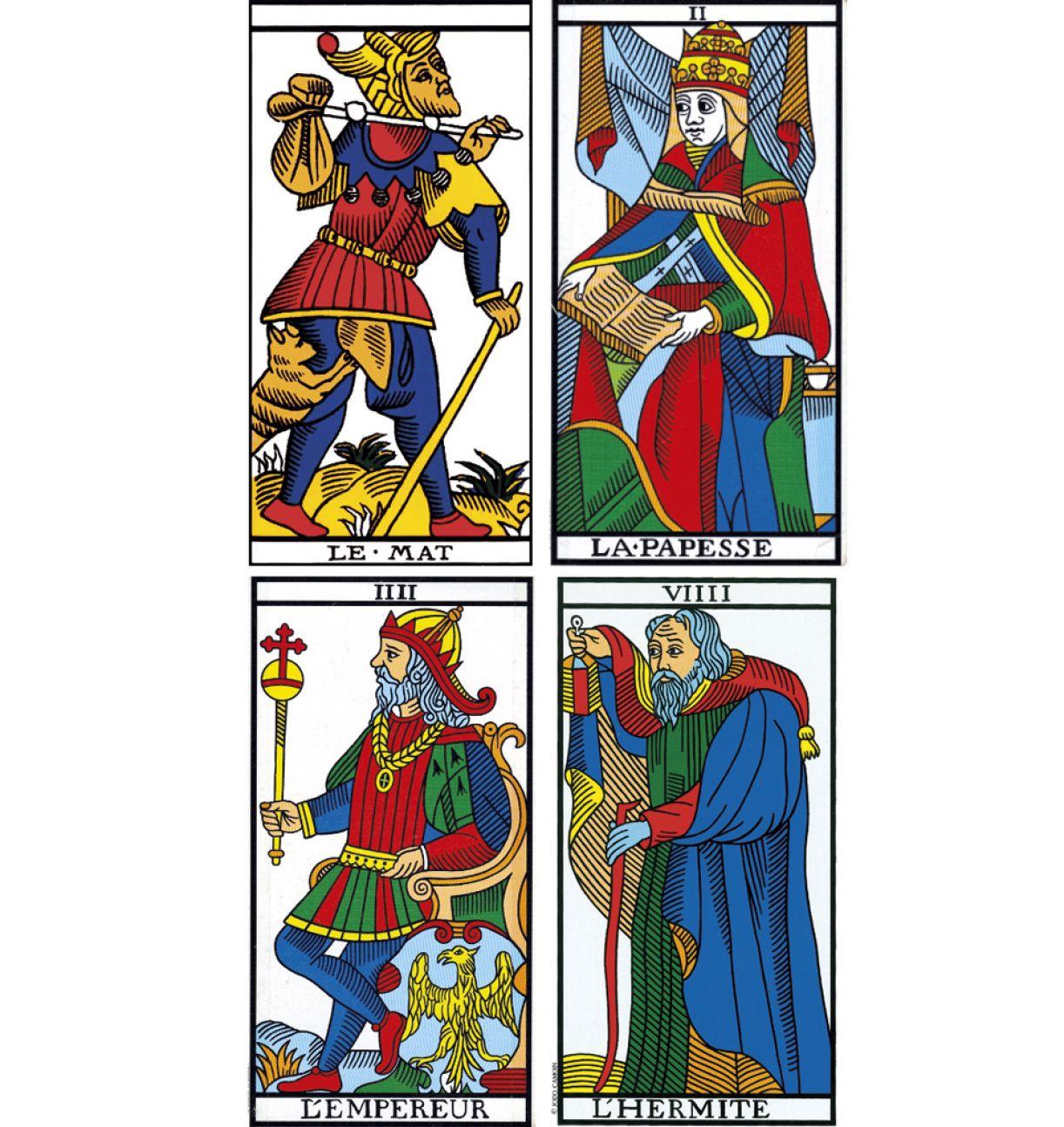 O tarô de Marselha, baralho do século 15, mantém-se popular entre tarólogos