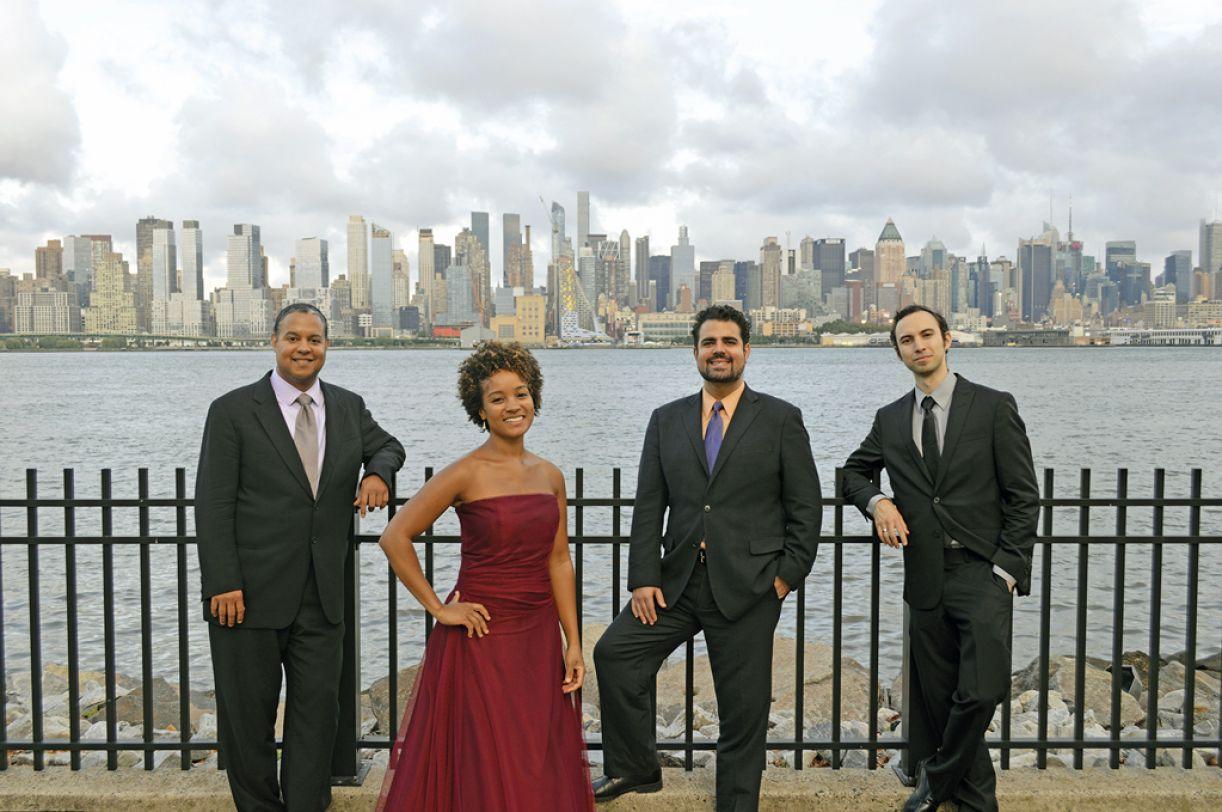 Harlem Quartet é formado por instrumentistas negros e latinos