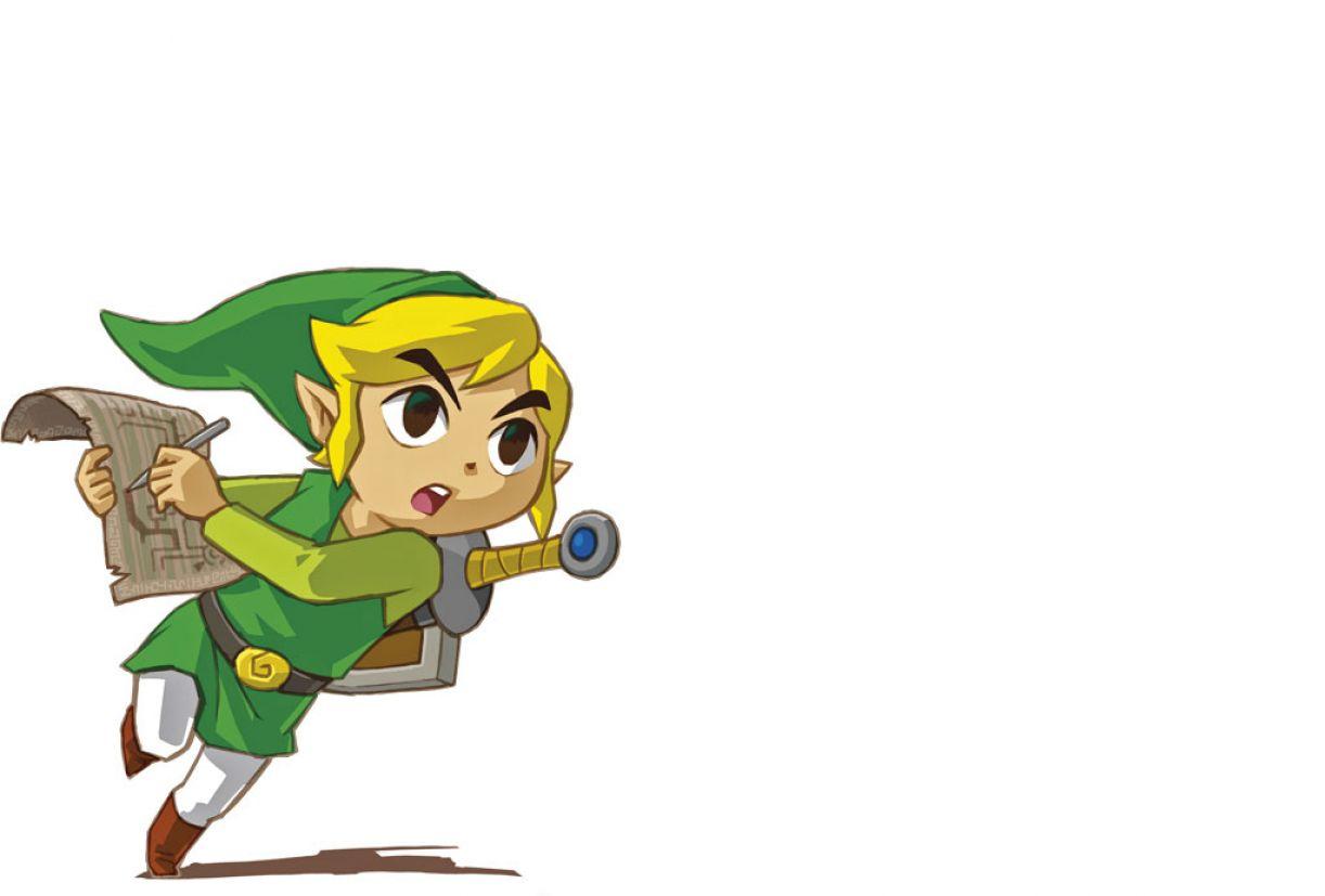 Link, personagem do game 'Legend of Zelda', lançado em 2007