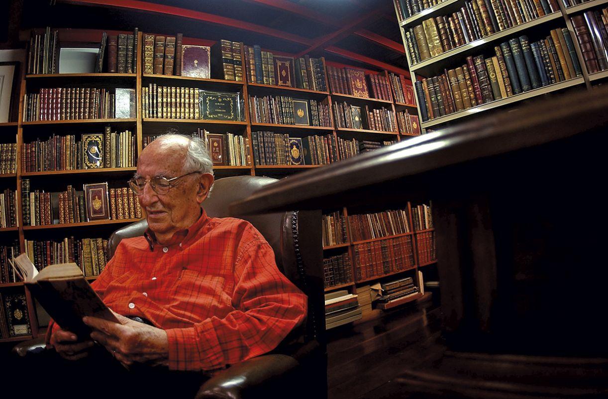 José Mindlin foi um dos maiores nomes da bibliofilia brasileira