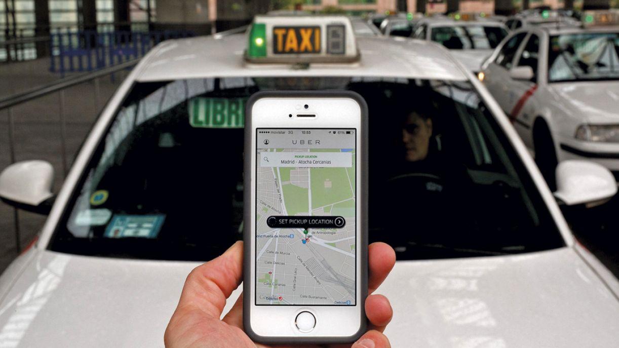 Uber, serviço mais barato que o de táxi, opera em mais de 50 países