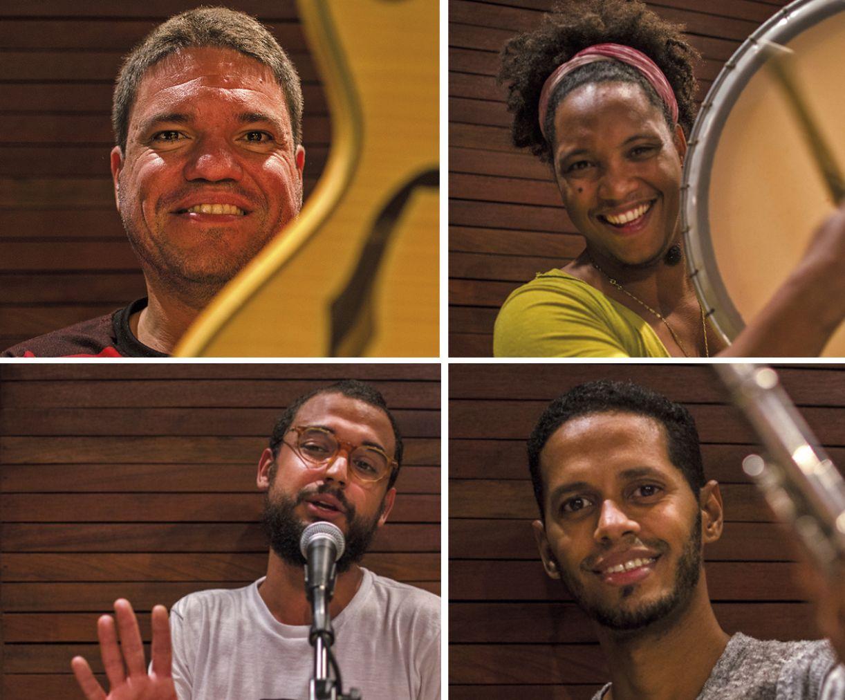 Breno Lira, Lucas dos Prazeres, Antônio Marinho e César Michiles integram o projeto