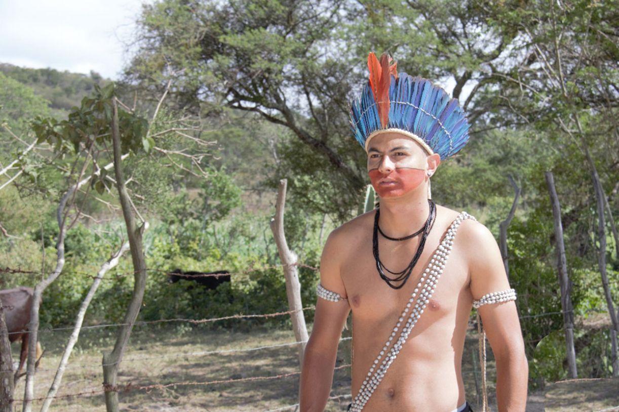 Com 26 anos, Diego é neto do cacique Chicão e um dos fundadores da Ororubá Filmes