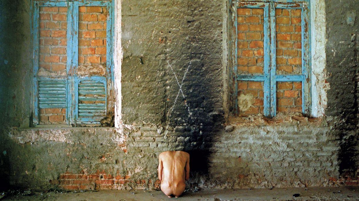 'Ação 5', um dos trabalhos em que o artista ratifica Foucault: