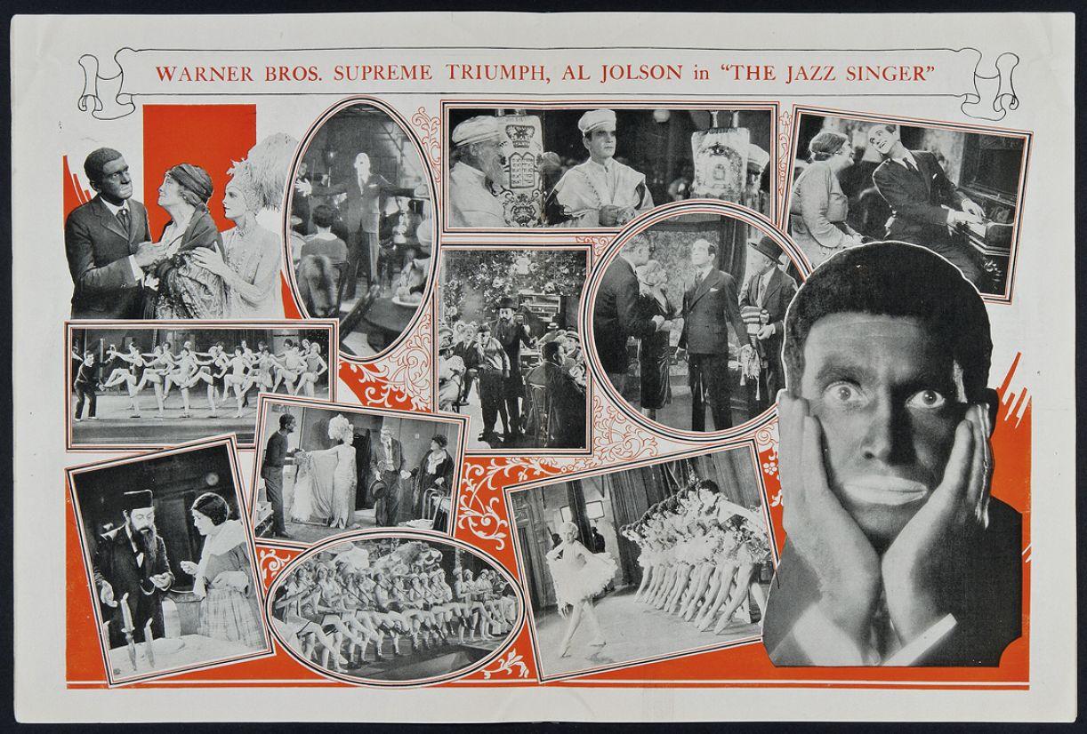 Primeiro filme falado, 'O cantor de jazz' desencadeou revolução técnica e conceitual