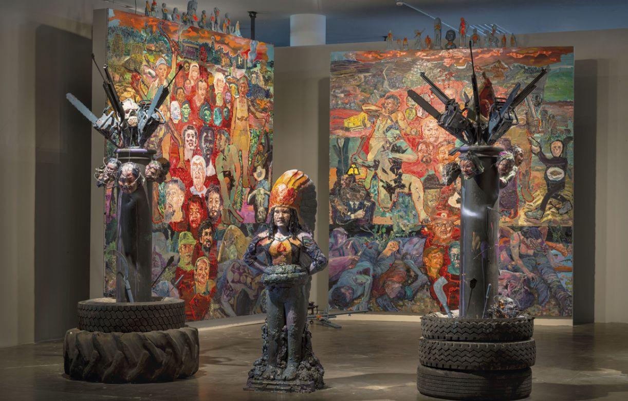 A obra 'Martírio' foi exibida na 31ª Bienal  de São Paulo, em 2014