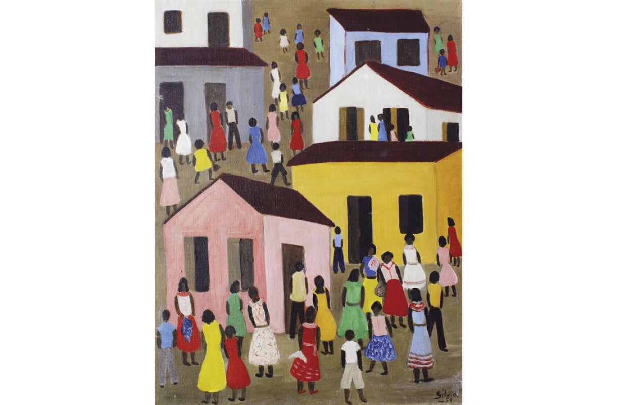 Os trabalhos de Sílvia marcaram a eclosão da arte naïf na segunda metade do século passado