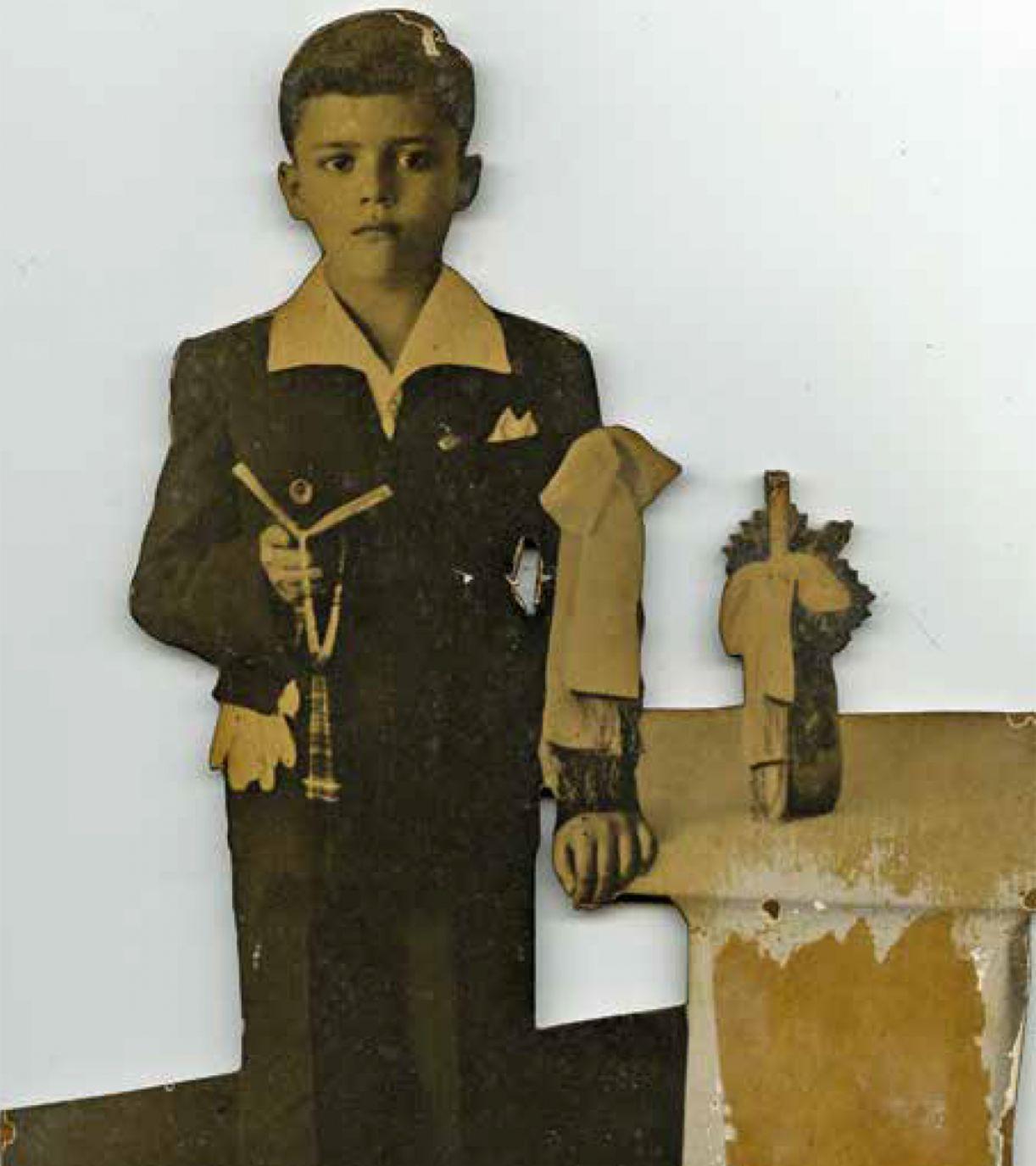 Primeira comunhão: José Cláudio, Ipojuca, década de 1930