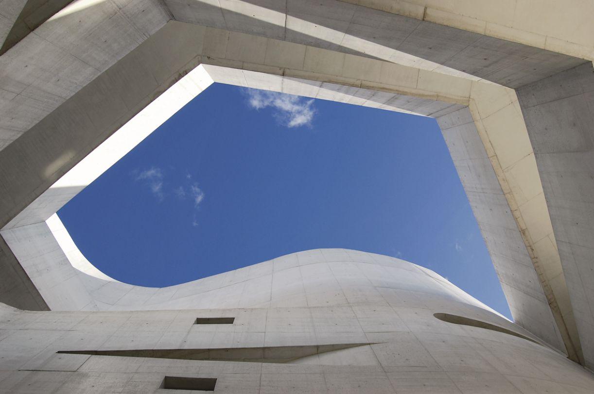 Edifício da Fundação foi projetado pelo arquiteto português Álvaro Siza