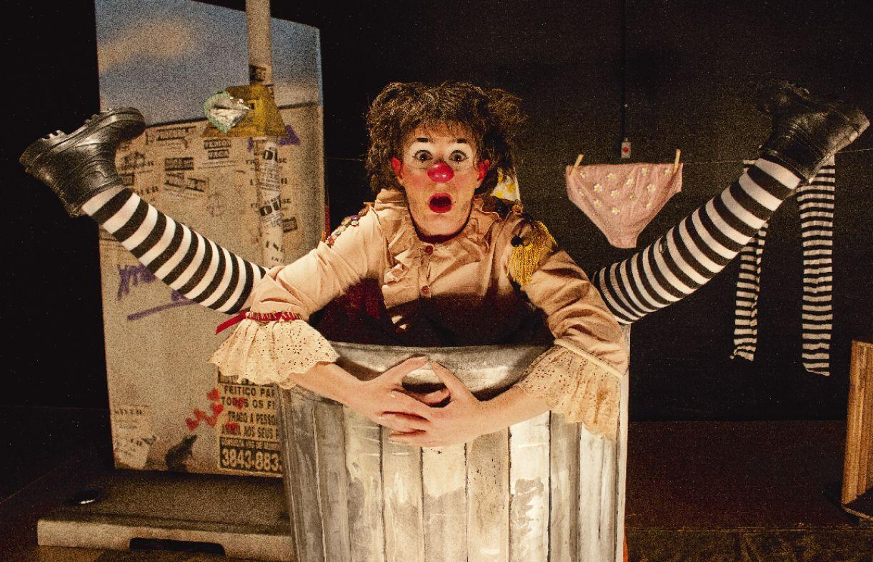 Espetáculo 'Olga, a pulga'