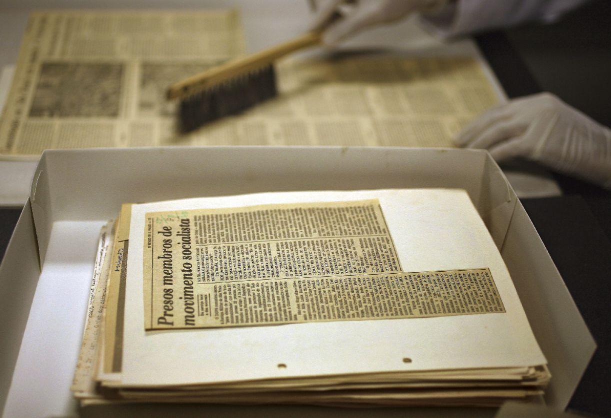 Primeiras reproduções foram de periódicos da Hemeroteca do Arquivo Público Estadual