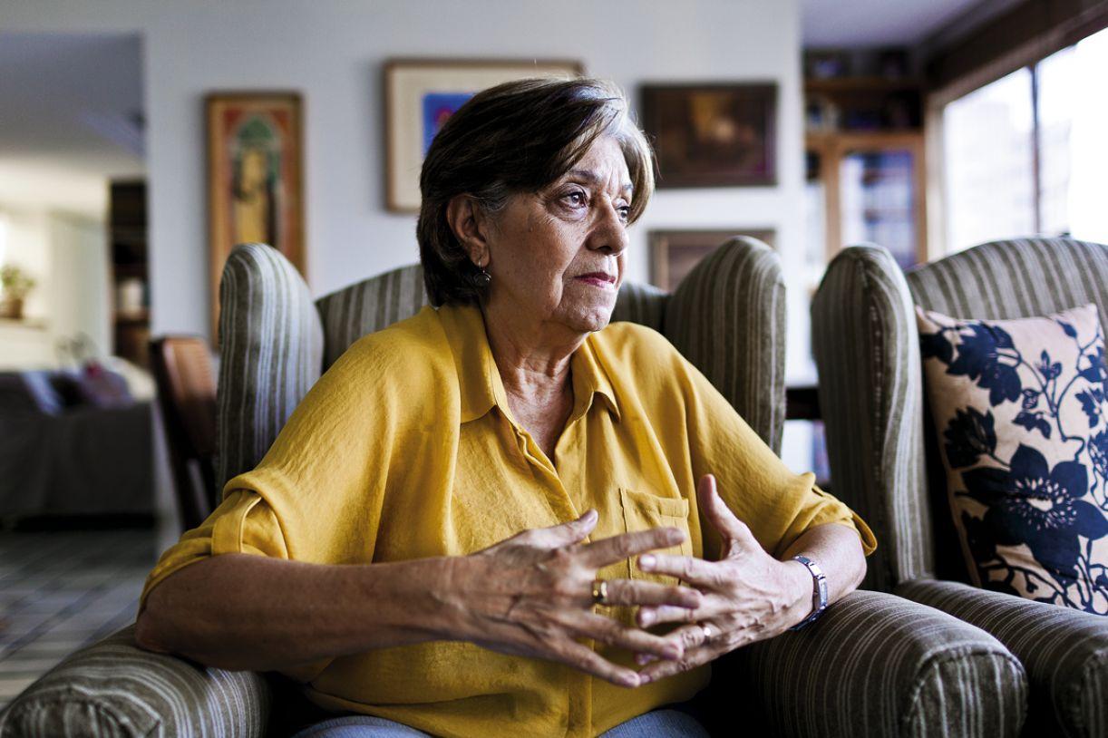 Historiadora teve várias pessoas da família presas durante a ditadura