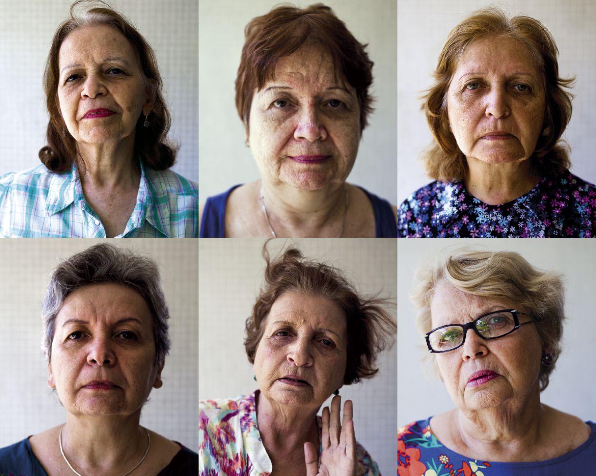 Cléa, Paula, Lourdes, Fátima, Maria e Nadja dividiam os mesmos ideais no início dos anos 1960