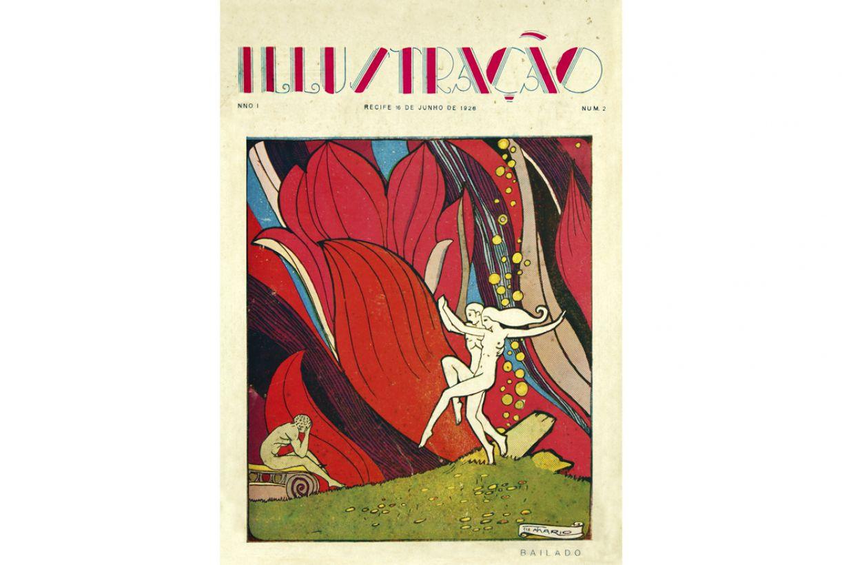 Na primeira metade do século 20, já se observava a contratação de artistas para a criação de ilustrações