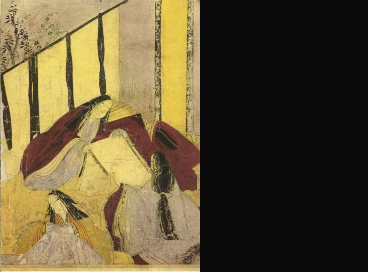 Pintura lúdica. Japão, século XVII