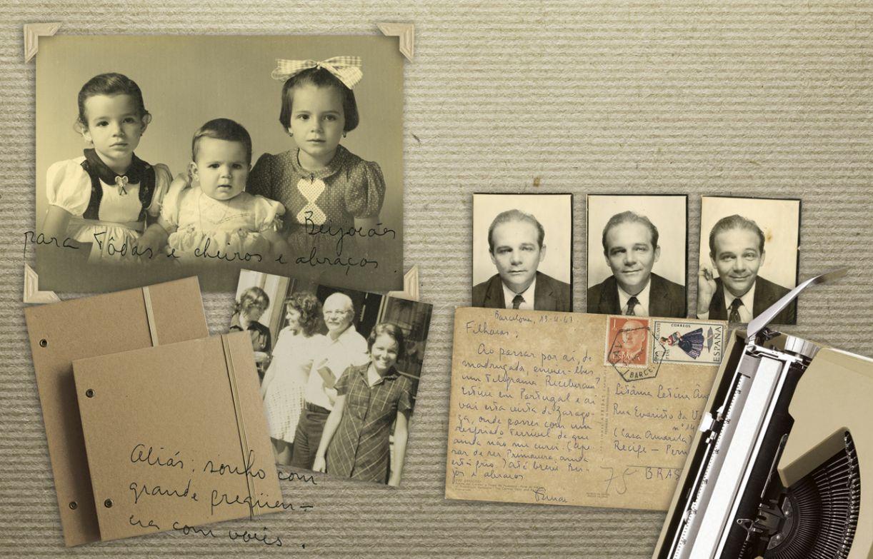O escritor Osman Lins, suas filhas e as cartas entre eles