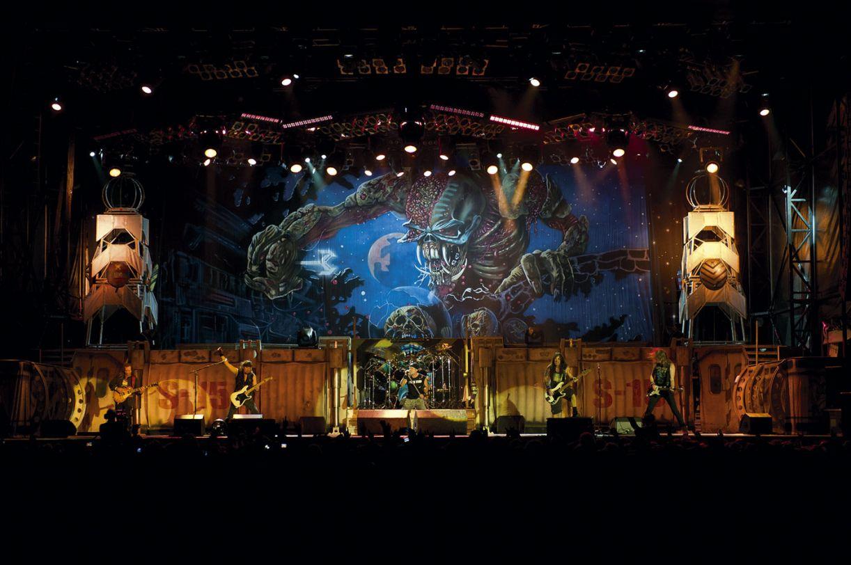 Iron Maiden reuniu um total de 30 mil pessoas nos shows que fez no Recife em 2009 e 2011