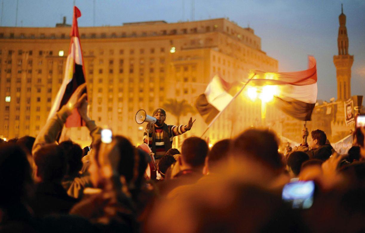 Manifestações pela deposição do ditator egípcio Hosni Mubarak são um marco da força exercida pela multidão