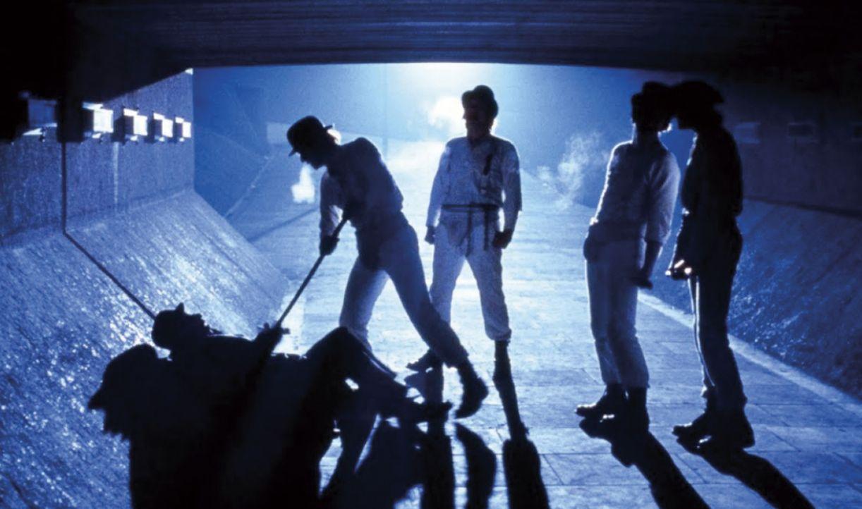 No filme 'Laranja mecânica', de Stanley Kubrick, a violência estetizada