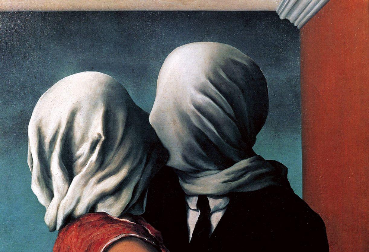 'Os amantes', obra de René Magritte (1928)