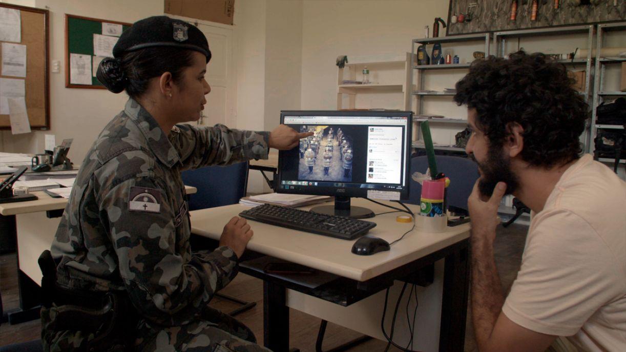 O diretor Marcelo Pedrodo é também um dos personagens do filme