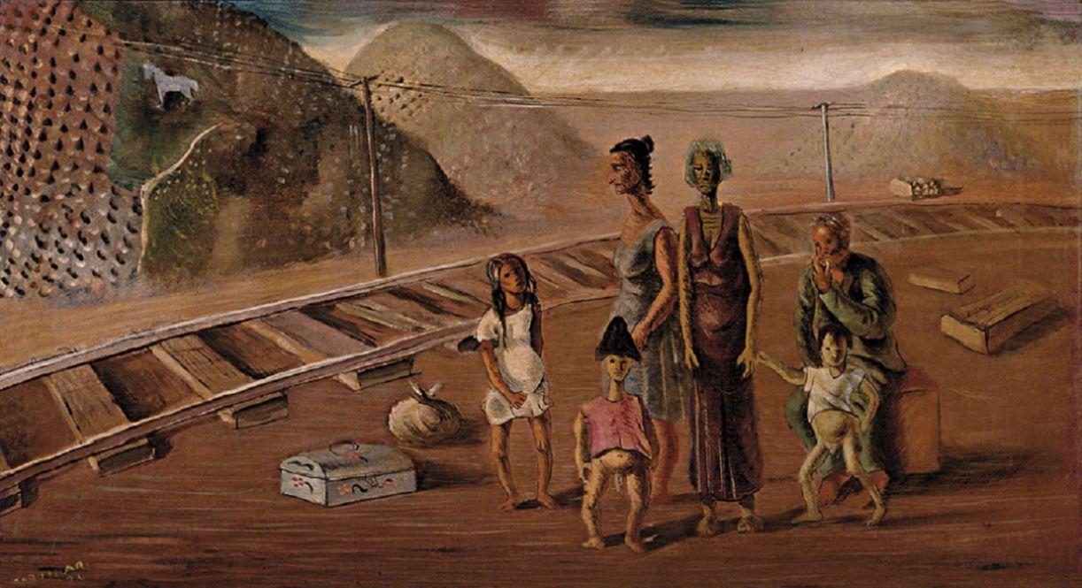 'Despejados', pintada por Candido Portinari em 1934