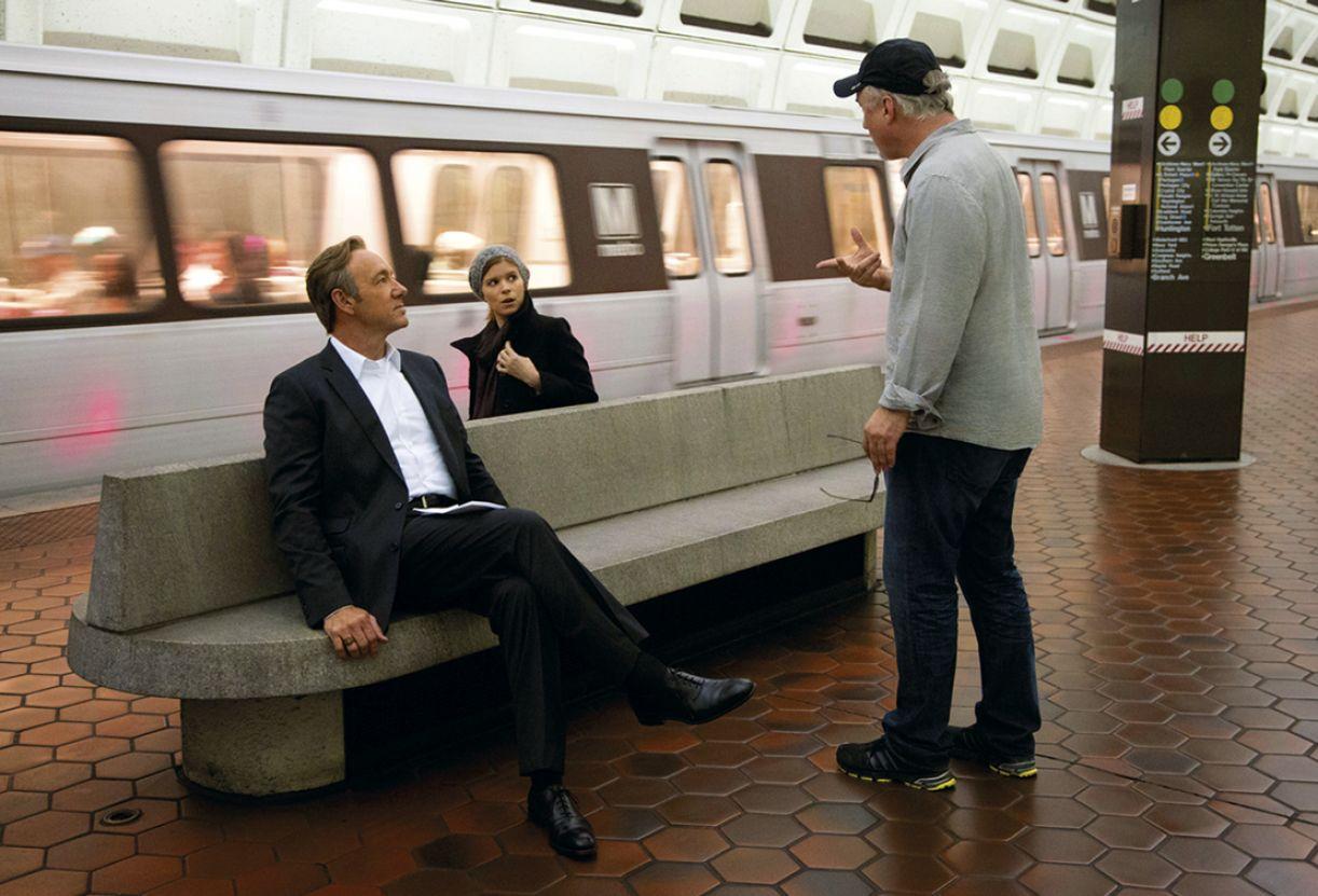 Kevin Spacey e David Fincher estão juntos no drama político 'House of cards'