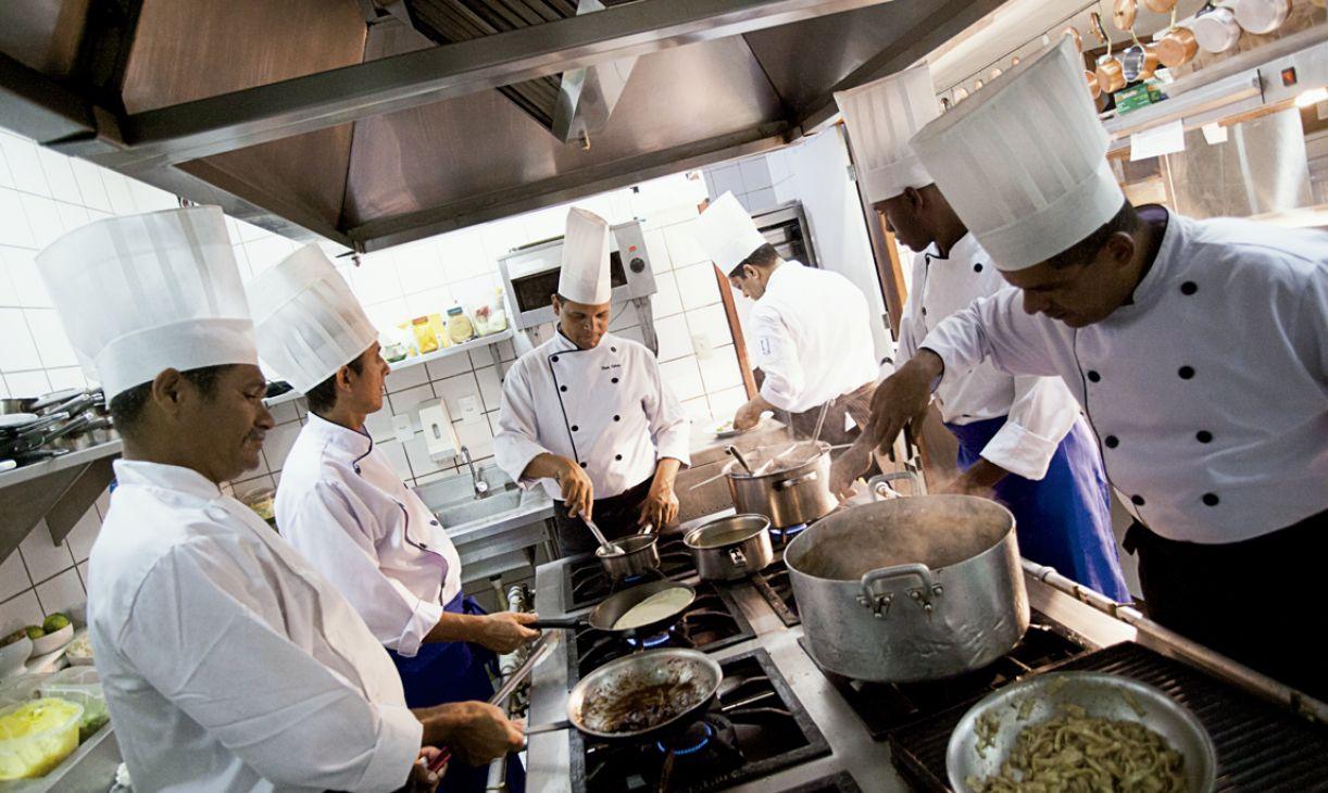 Os profissionais do Wiella Bistrô foram formados no próprio restaurante
