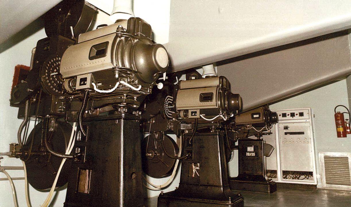 Antigos projetores estão virando peças de museu