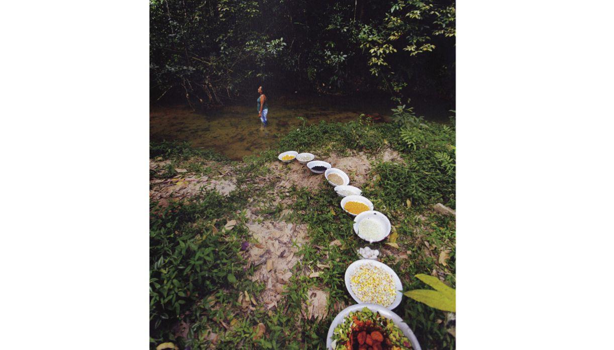 A fotógrafa conta que sua visão do candomblé mudou, depois de participar de cerimônias privadas da religião