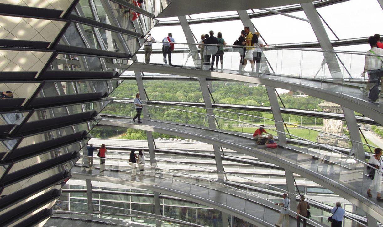 Sede do Parlamento Alemão usa energia renovável