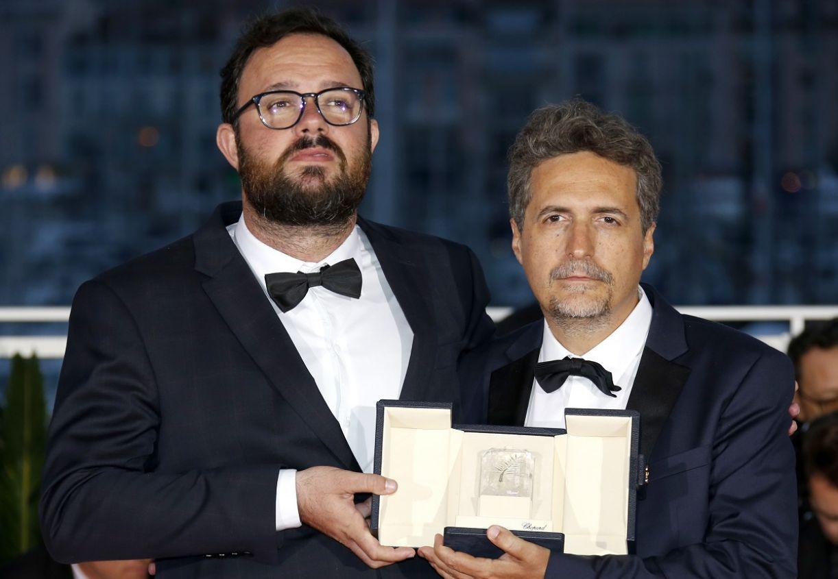 Os diretores de 'Bacurau', Juliano Dornelles e Kleber Mendonça Filho