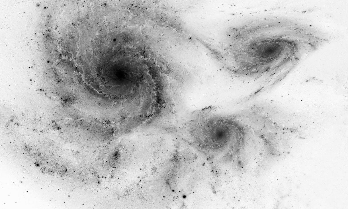 Imagem de tela da série Hubble, realizada a partir de registros do telescópio espacial