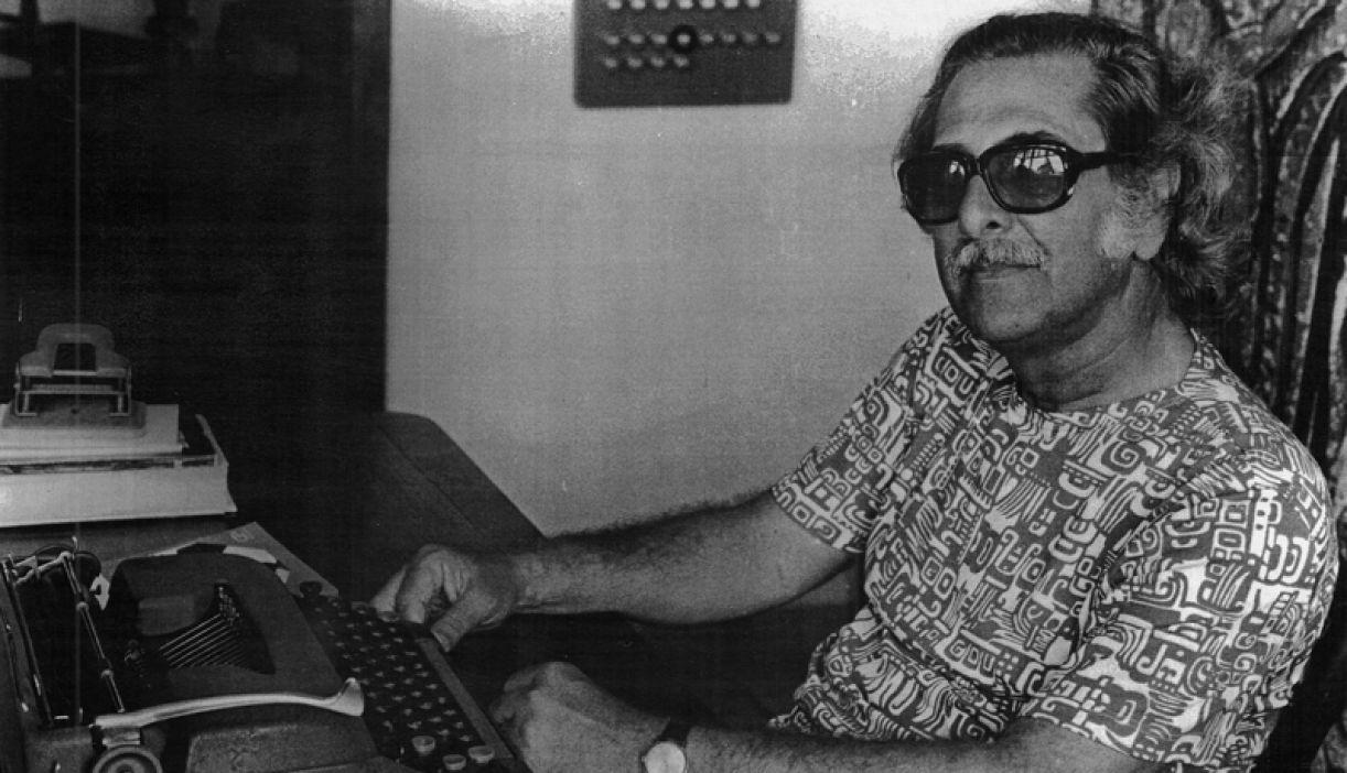 O escritor e encenador Hermil Borba Filho