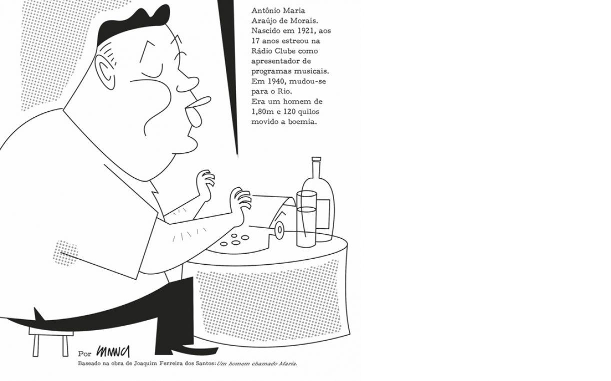 Abertura da história em quadrinhos 'Ninguém me ama, ninguém me quer', feita com exclusividade para a Continente